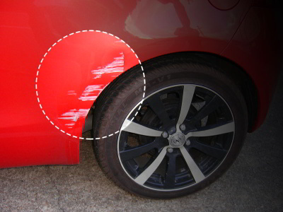 cincinnati-accident-repair-paint-scratch